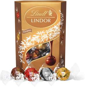 Lindt Lindor Assorted 337g £5.27@ Amazon (£4.49 p&p np) £4.59/£5.13 s&s (also 600g £8.61)