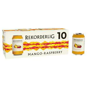Rekorderlig Premium Swedish mango & raspberry cider 10x330ml £5 at Asda Portsmouth
