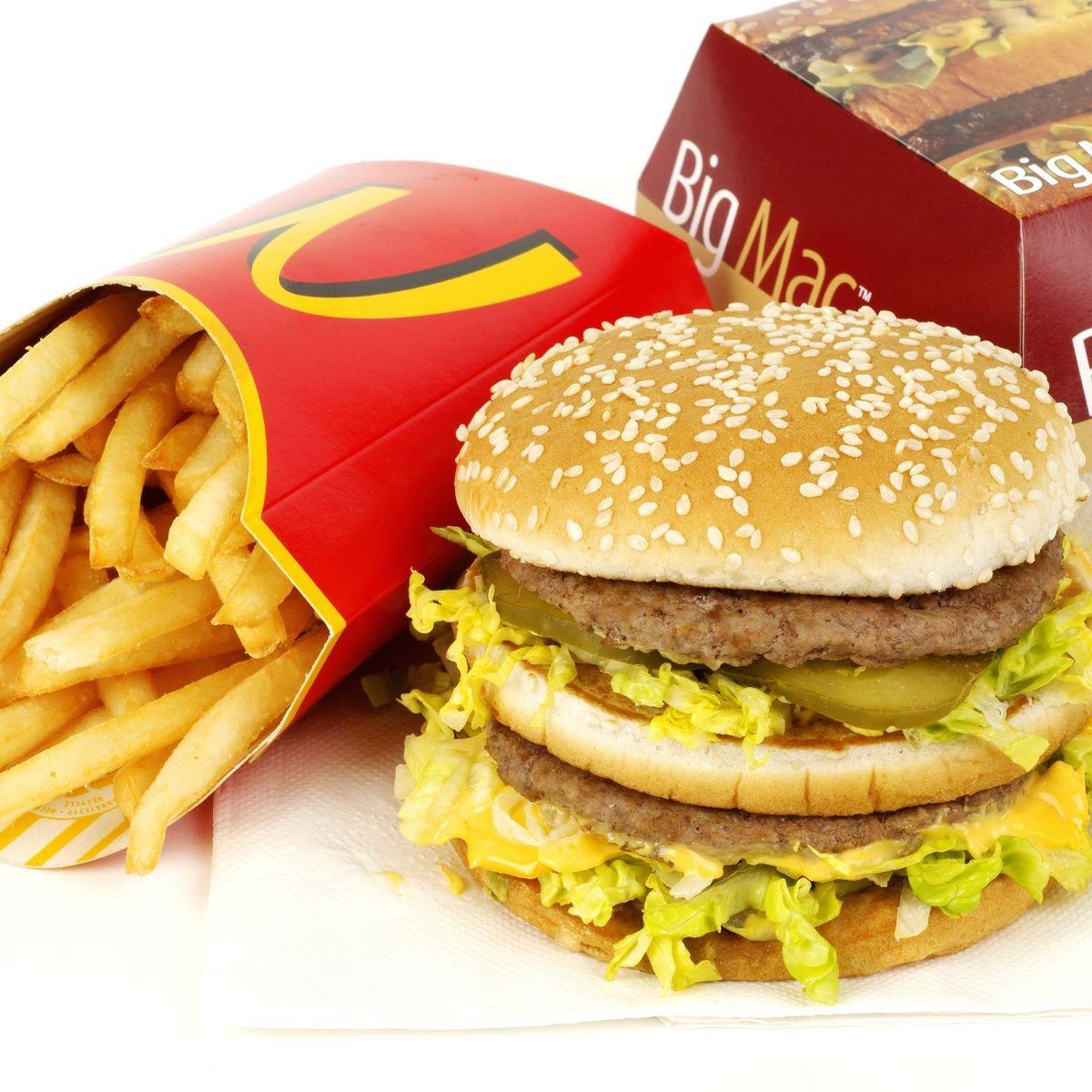 McDonald's Monday 03/05 - Sandwich (e.g. Big Mac / Quarter Pounder with cheese) + Medium Fries £1.99 via app @ McDonald's