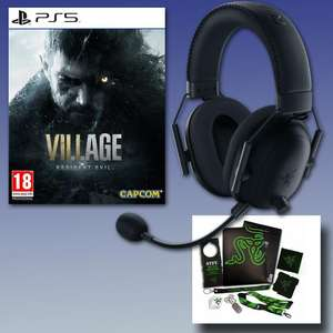 Pre-Order Resident Evil Village [PS5] + Razer BlackShark V2 Pro Wireless Headset & Razer L33t Pack - £179.41 Delivered With Code @ GameByte