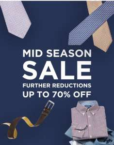 TM Lewin Sale - up to 70% off - shirts from £11 and more
