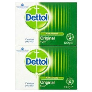 Dettol Bar Soap Original, Pack of 2 x 100g £1 @ Amazon (£4.49 p&p non prime) 85p/95p s&s