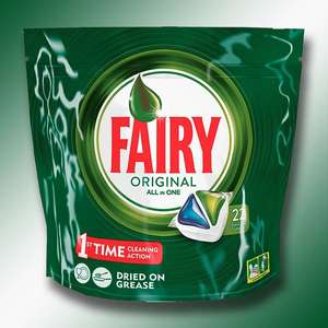 110 X FAIRY ORIGINAL All In One Dishwasher Capsules £12 + free delivery @ Yankee Bundles