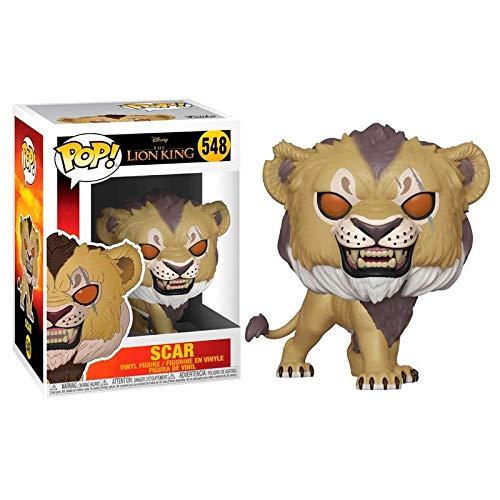 Funko POP! Disney: The Lion King (Live Action) Scar - £2.92 ea (+4.49 Non-Prime) - Min Order Qty 4 @ Amazon