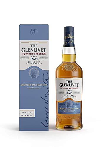 The Glenlivet Founder's Reserve Single Malt Scotch Whisky, 70 cl (American Oak Selection) £24 @ Amazon