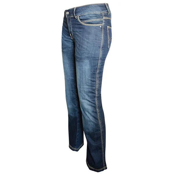 Bull-it Covec SR6 Ladies Vintage Motorcycle Jeans - Blue £69.99 at SportsBikeShop