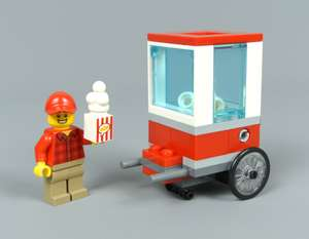 LEGO City 30364 Popcorn Cart Polybag 99p @ B&M (Leeds Kirkstall)