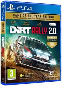 DiRT Rally 2.0 Game Of The Year Edition (PS4) - £11.95 delivered @ The Game Collection