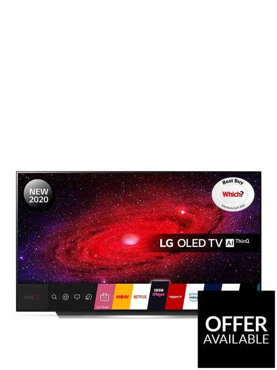 LG OLED65CX5LB 65 INCH OLED, 4K Ultra HD, HDR, Smart TV + Free Headphones £1799 + 20% Back on BNPL (£1439) @ Very