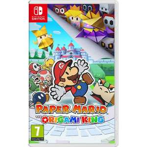 Paper Mario: The Origami King for Nintendo Switch - £28 delivered (UK Mainland) @ AO