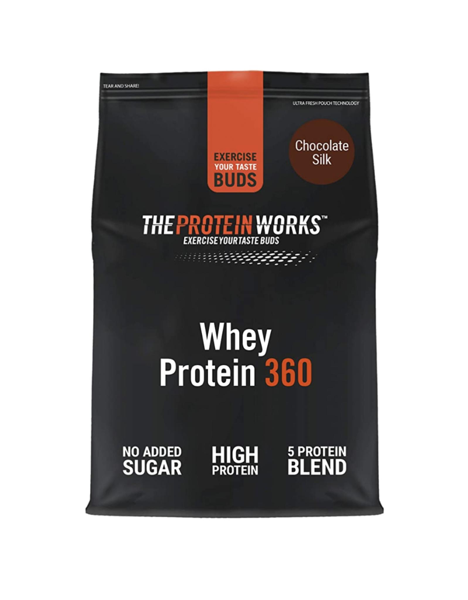 THE PROTEIN WORKS Whey Protein 360 Powder | High Protein Shake 1.2 Kg £15.99 Prime (+£4.49 Non Prime) @ Amazon