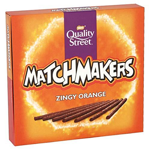 Quality Street Matchmakers Zingy Orange Chocolates, 120 g - 98p (+£4.49 Non-Prime) @ Amazon