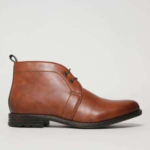 Brown Nate Chukka Boots also available in Black £14.99 Free Click & Collect plus students get an extra 10% off at Schuh