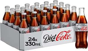 Diet Coke 24 glass pack £4.99 instore at Farmfoods Mitcham
