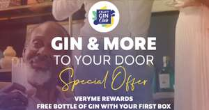 Extra FREE bottle of Gin (70cl) with a subscription to Craft Gin Club - Vodafone VeryMe Reward