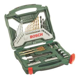 Bosch Straight & Hex Shank Mixed Drill & Screwdriver Set 50 Pieces - £12.82 Free click & collect / £5 Delivery @ Screwfix