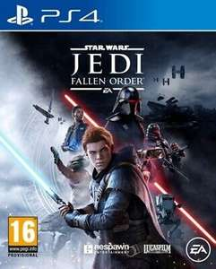 Star Wars: Jedi: Fallen Order (PS4) Adventure Expertly Refurbished Product £11.10 at ebay musicmagpie