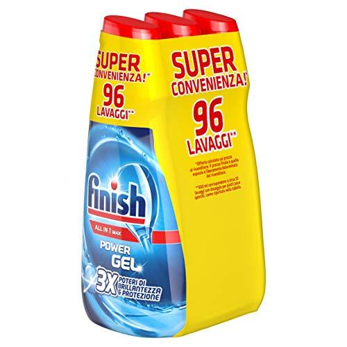 3 x Finish Power Gel All In One Max Regular 650ml £3.15 (+£4.49 Non Prime) @ Amazon