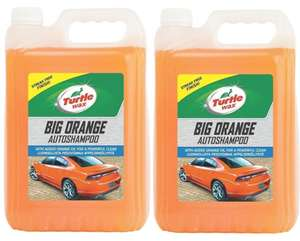 Amazon Turtle Wax Big Orange 2 x 5 Litres £12.81 Dispatched from and sold by Turtle Wax Europe