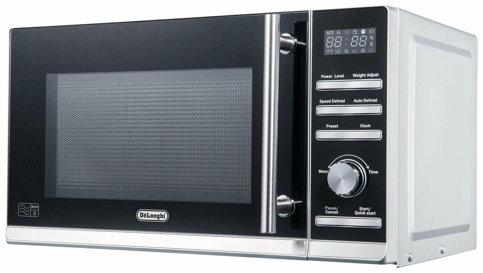 De'Longhi P80ZVA 20L 800W Standard Microwave - Stainless Steel £49.99 delivered (UK Mainland) @ Argos on eBay