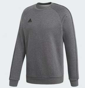 Mens Adidas Core 18 (Various colours) Sweatshirt £18.75 with code ordered via app Free delivery with creators club @ Adidas