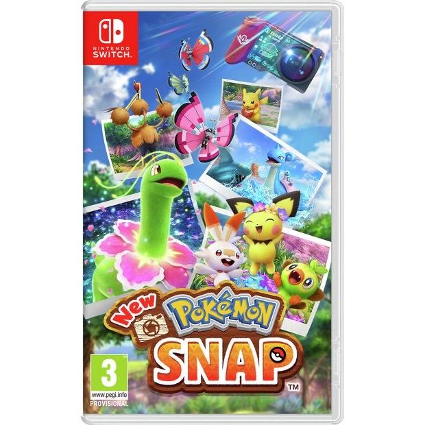 Pokémon Snap Nintendo Switch Game £39.99 Argos - click & collect