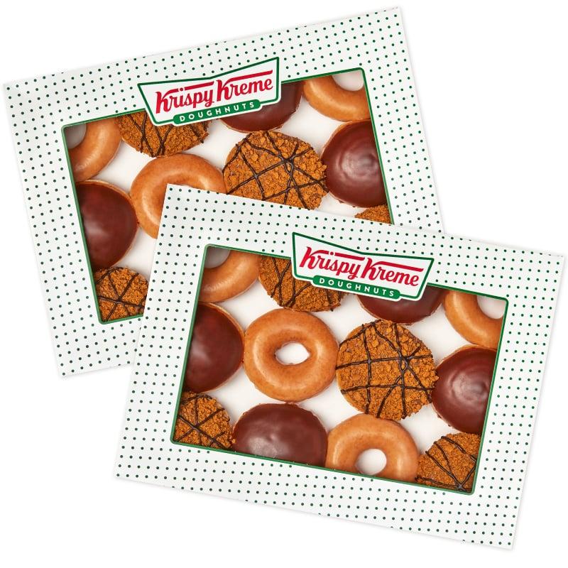 Buy 1 Dozen get 2nd Original Glazed Dozen (Order and collect instore) for £1- £13.95 Total at Krispy Kreme Shop