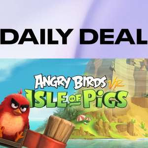 Oculus Daily Deal: Angry Birds VR - Isle of Pigs