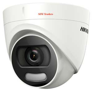 Hikvision ColorVu camera DS-2CE72HFT-F28 5MP Turret Color View - £39.99 @ simtraders19 eBay