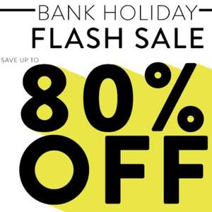 Get The Label Bank holiday Summer Flash sale - up to 80% off - £3.95 delivery