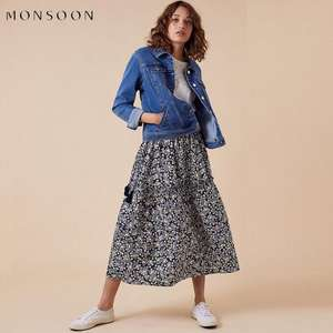 Up to 50% Off Spring Sale + Extra 10% Off Women's Sale using code + Free click & collect @ Monsoon