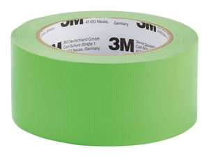 3M Neon Duct Tape, £1.99 at Lidl from 9th May instore