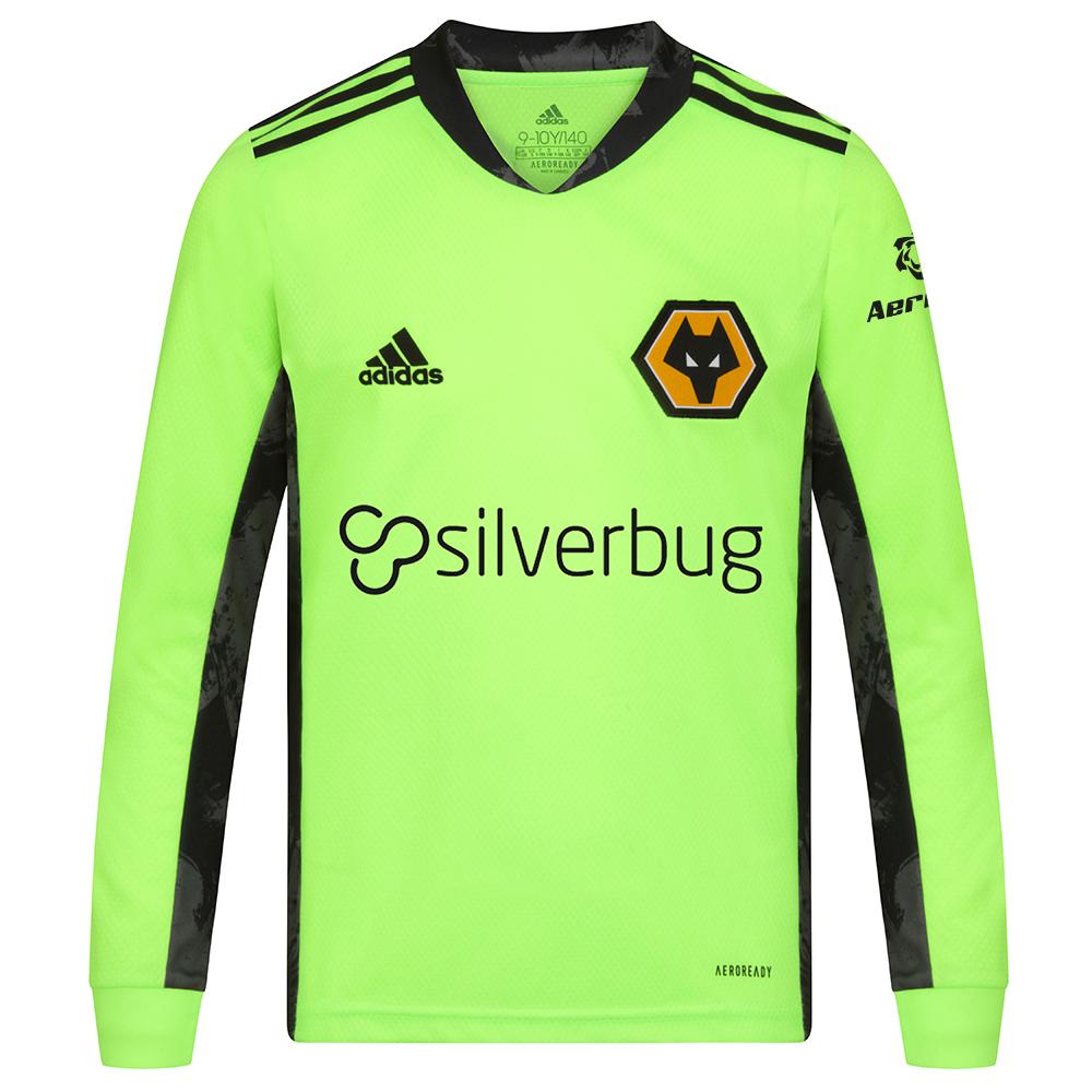 Wolves Home Goalkeeper Shirt 2020-21- Junior - £10 + £3 delivery at Wolves FC Shop