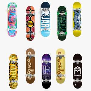 Discounted Complete Skateboards From £48.94 - £64.99 Delivered (UK Mainland) - Includes Antihero / Chocolate / Plan B & Others - @ Route One