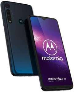 Motorola One Macro Smartphone 4GB RAM, 64GB, Space Blue In Grade B / Excellent Refurbished Condition - £76 With Code @ Stock Must Go