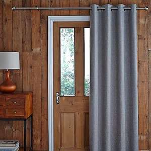 Jennings Charcoal Thermal Door Curtain - 117cm x 213cm - £8.75 Click & Collect / £12.70 Delivered (UK mainland) @ Dunelm