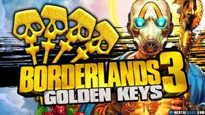 3 Golden keys for Borderlands 3 - free using code @ Gearbox Software