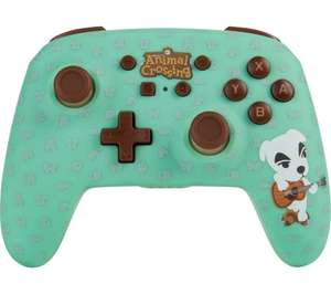 POWERA Nintendo Switch Wireless Controller - Animal Crossing - £34.99 delivered @ Currys PC World