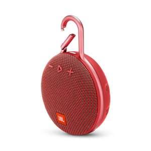 Free JBL Clip 3 Red with purchase of any headphones over £99 using code @ JBL