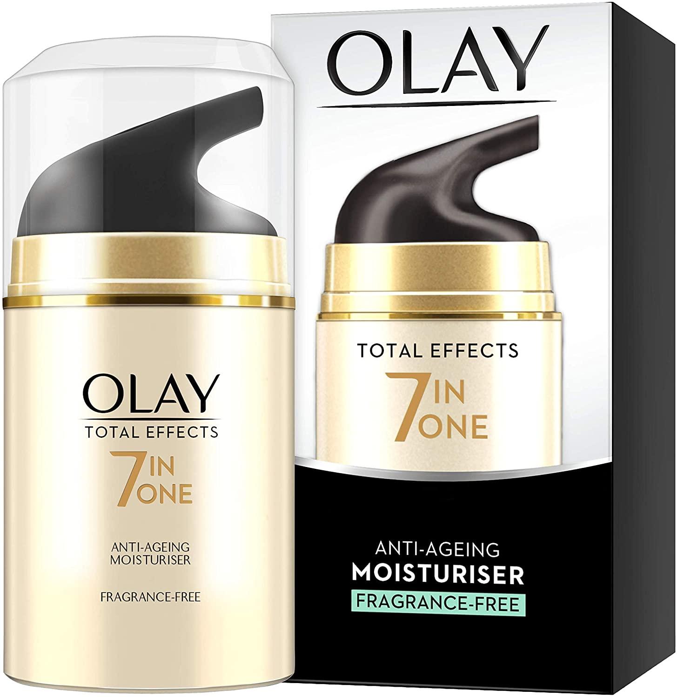 Olay total effects 7in1 ff anti ageing moisturiser 50ml £1 at Asda broughton