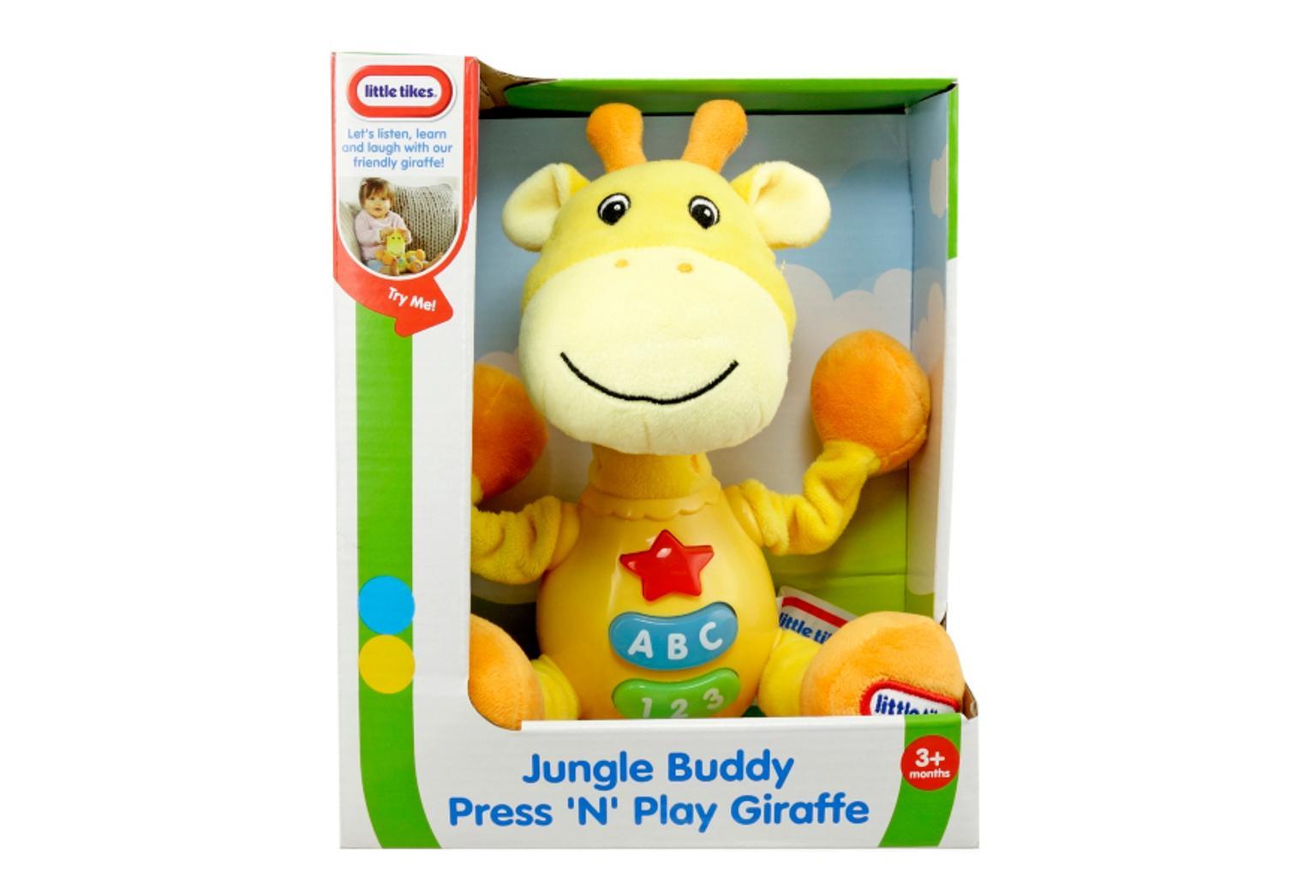 Little Tikes Jungle Buddy Press 'N' Play Giraffe - £2 instore @ Asda, Broughton