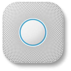 Google Nest Protect 2nd Generation Smoke + Carbon Monoxide Alarm - Wired & Battery Versions both £79.99 at Amazon