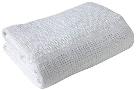 Clair de Lune Pram & Travel Extra Soft Cotton Cellular Baby Blanket £3.95 Amazon Prime / £8.44 Non Prime