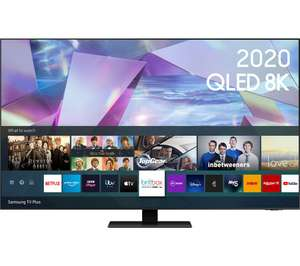 Samsung QE65Q700T (2020) QLED HDR 1000 8K Ultra HD Smart TV, 65 inch with TVPlus/Freesat £1,193 at Hughes