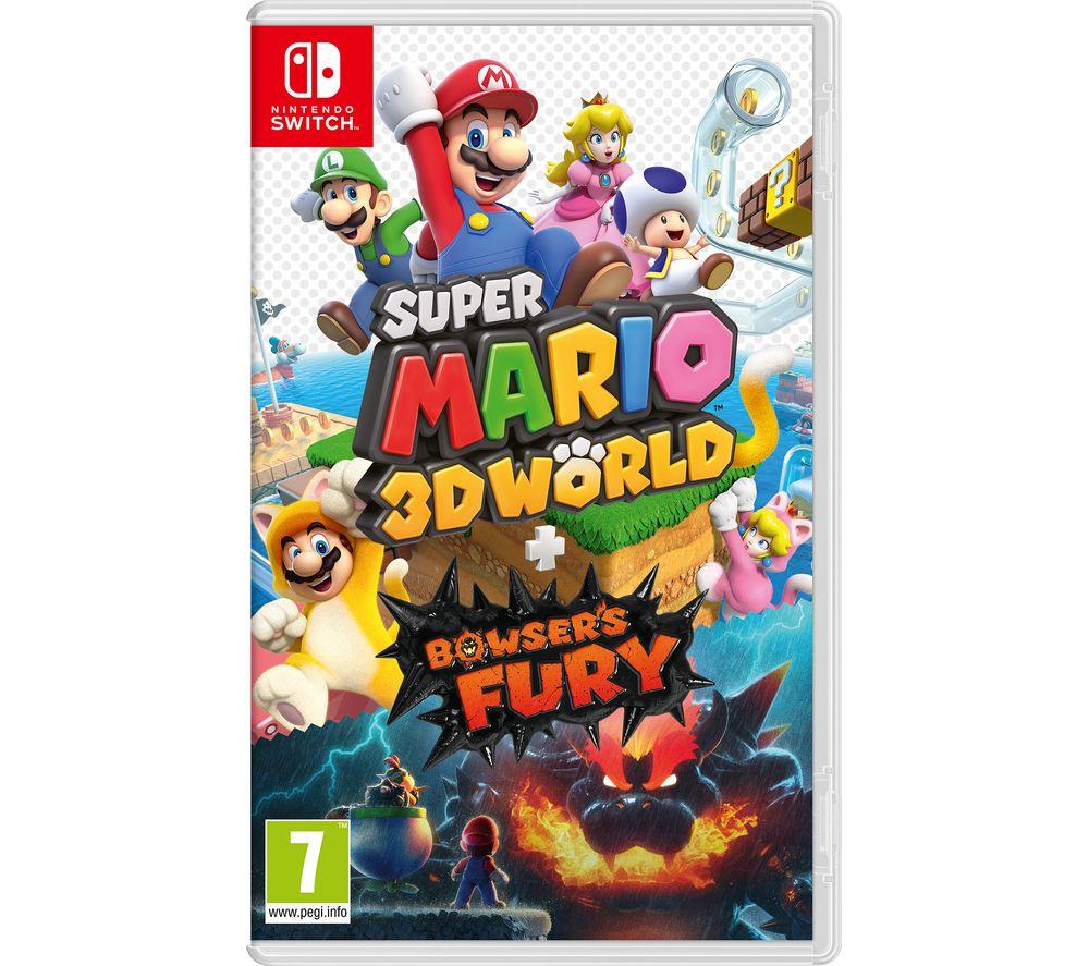 (Nintendo Switch) Super Mario 3D World & Bowser's Fury | Bravely Default II | The Legend of Zelda: Links Awakening £34.99 @ Currys PC World