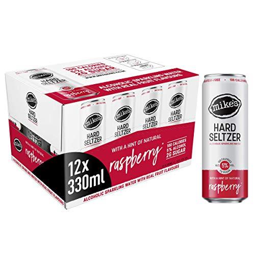 Mike's Hard Seltzer Raspberry, 12 x 330 ml - £16.99 (+£4.49 Non Prime) @ Amazon