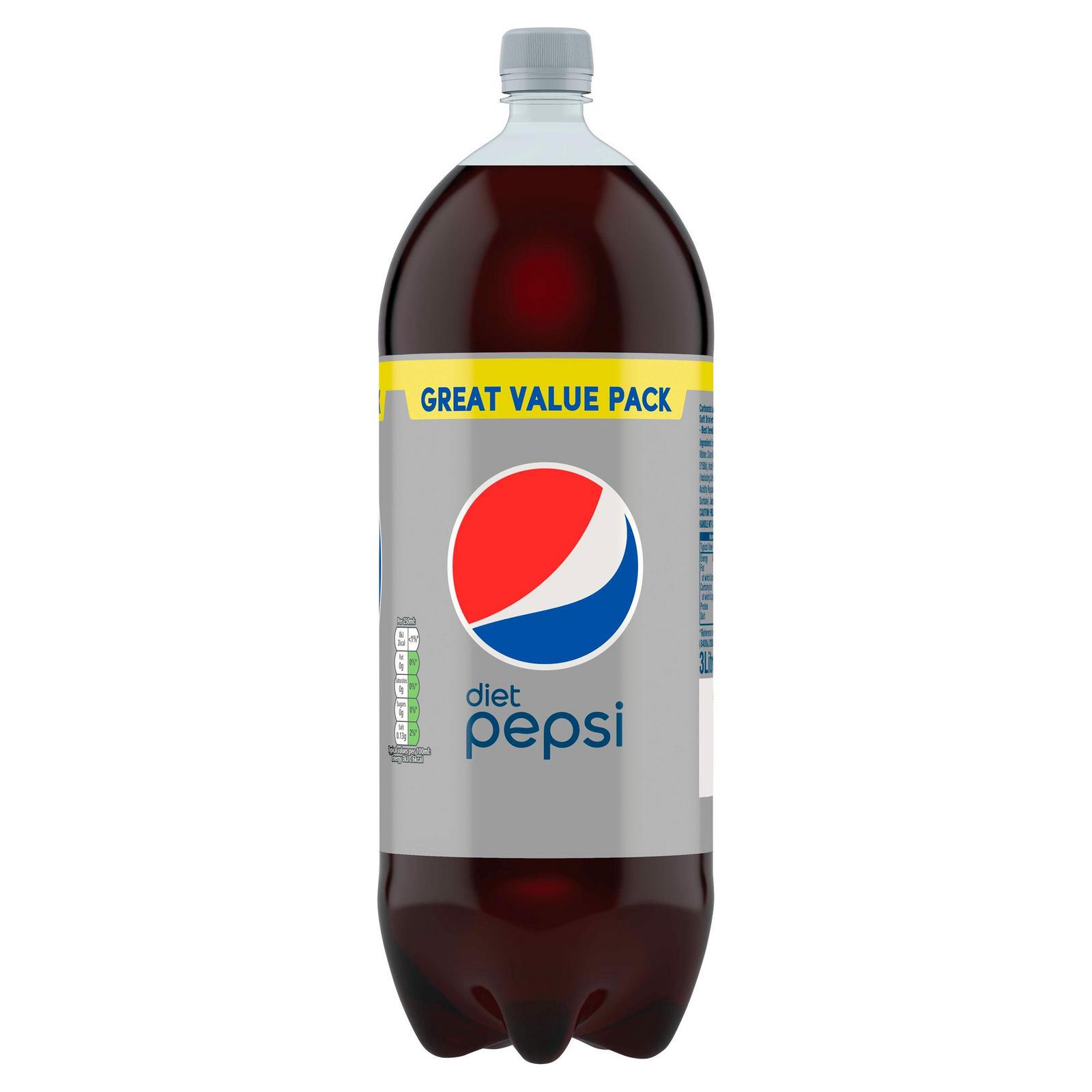 Pepsi Max/Diet Pepsi 3 Litre £1.75 in store @ B&M Bargains Hemel Hempstead