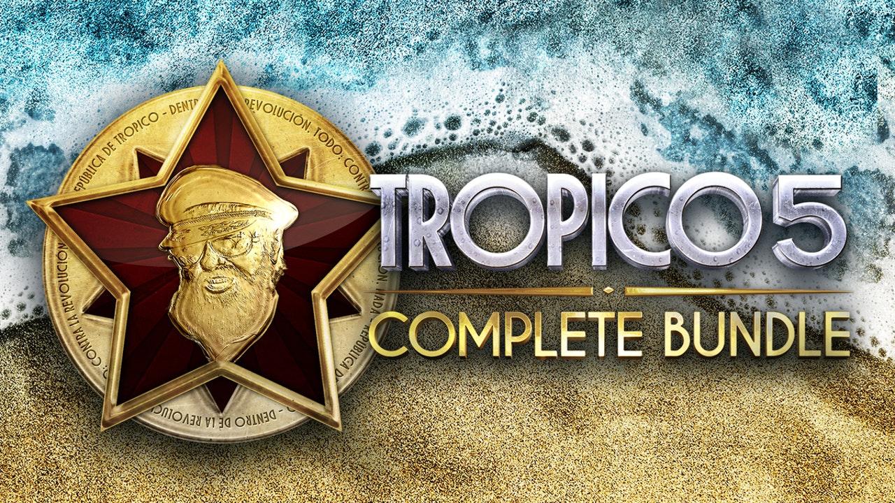 Tropico 5 Complete Bundle (Steam PC/Mac/Linux) £4.29 @ Fanatical