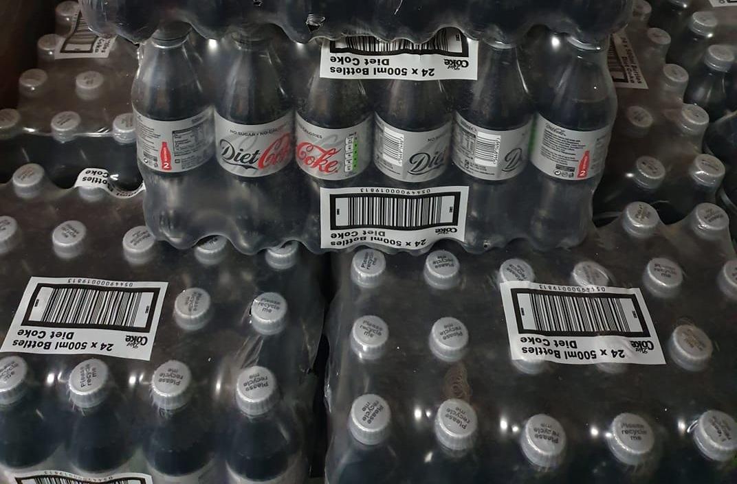 24x Coca Cola 500ml diet or regular coke plastic bottles £4 at Farmfoods Milton Glasgow