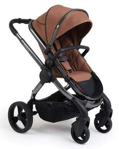 iCandy Peach Stroller and Carrycot 2020 - Phantom / Terracotta Twill £649 at Discount baby equip